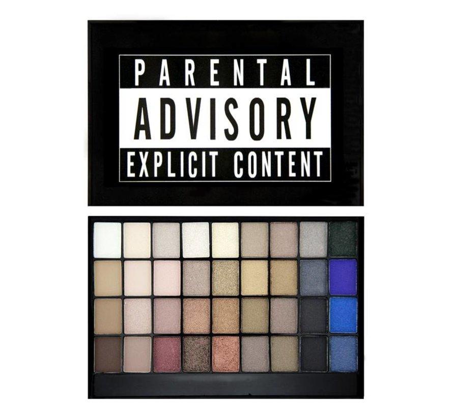 Slogan Palette - Explicit Content - Oogschaduwpalette
