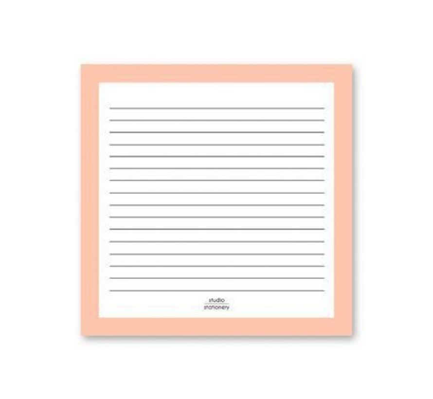Square Notes Pink