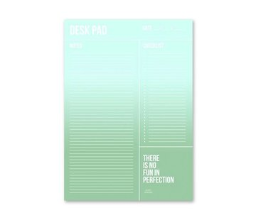 Studio Stationery Minty Desk Planner