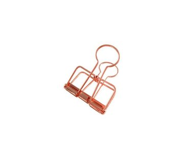 Studio Stationery Binder Clips - Koper