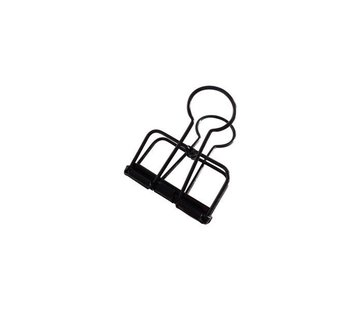 Studio Stationery Binder Clips - Zwart