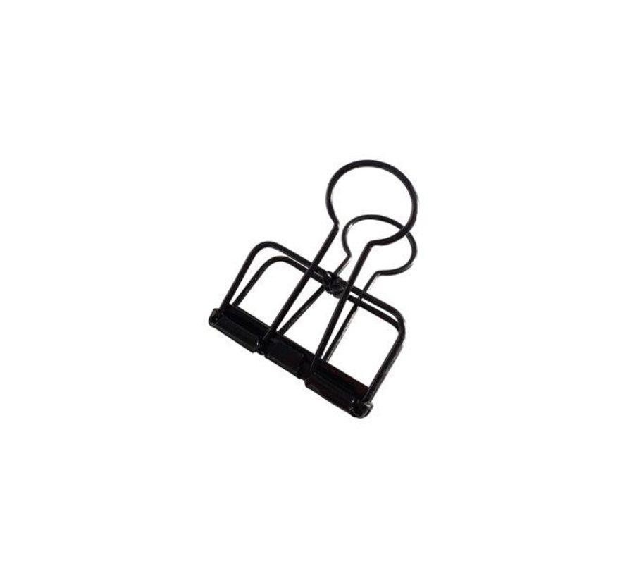 Binder Clips - Zwart