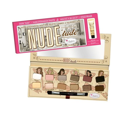 theBalm Nude Tude & Mini Put A Lid On It Primer - Palette