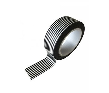 Stationery Masking Tape - Black Stripes