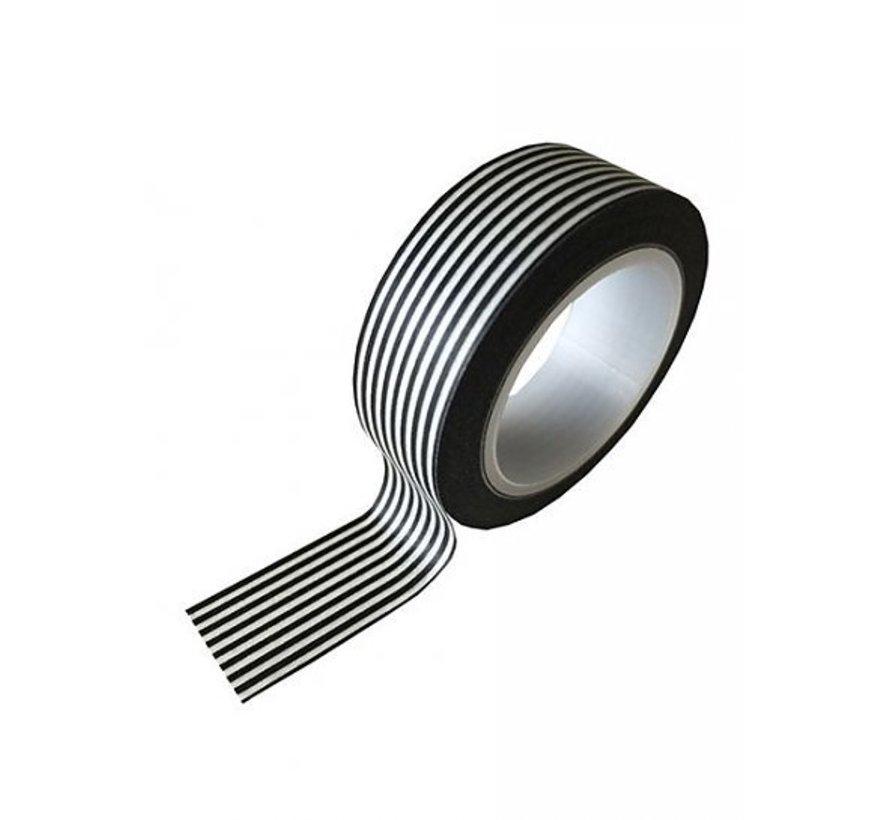 Masking Tape - Black Stripes
