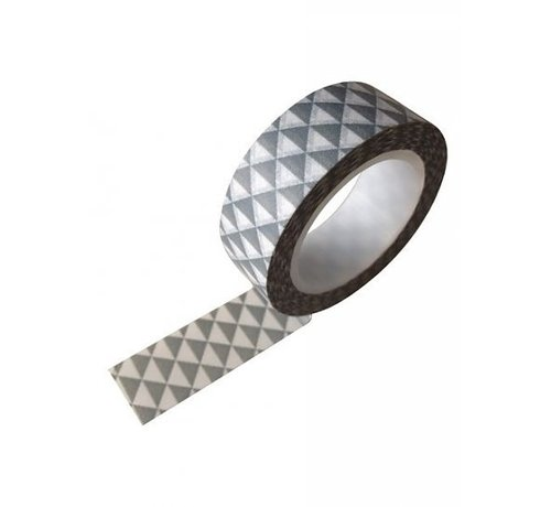 Stationery Masking Tape - Grey Party