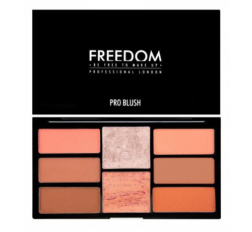 Freedom Makeup Pro Blush Palette - Peach and Baked