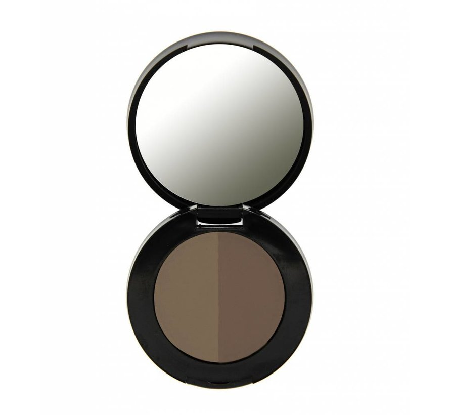 Duo Eyebrow Powder - Soft Brown