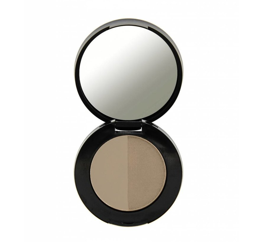 Duo Eyebrow Powder - Blond