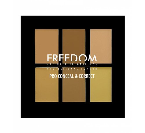 Freedom Makeup Pro Conceal Palette - Light/Medium