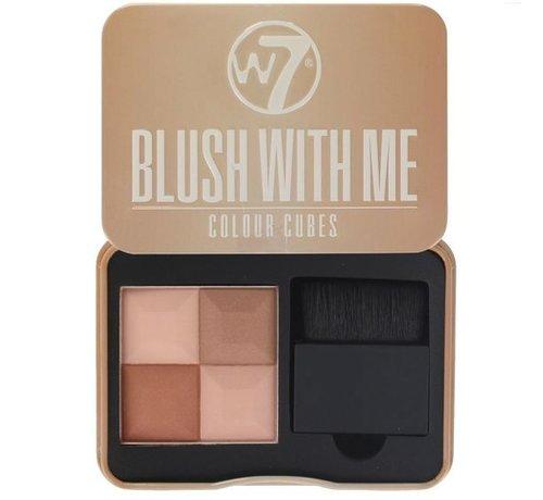 W7 Make-Up Blush With Me - Cassie Mac