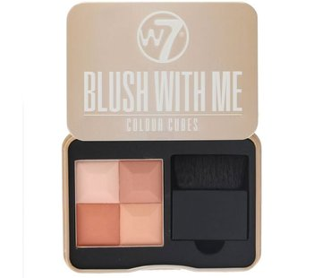 W7 Make-Up Blush With Me - Honeymoon