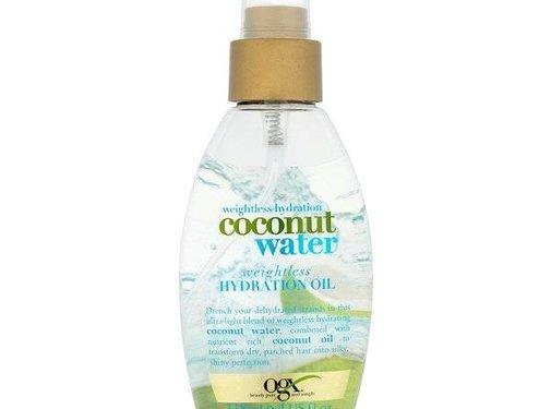 OGX (Organix) Weightless Hydration Coconut Water Oil