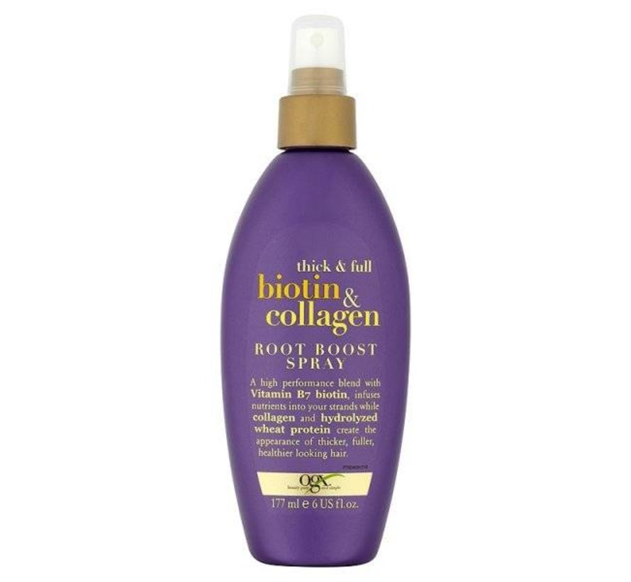 Biotin and Collagen Root Boost Spray