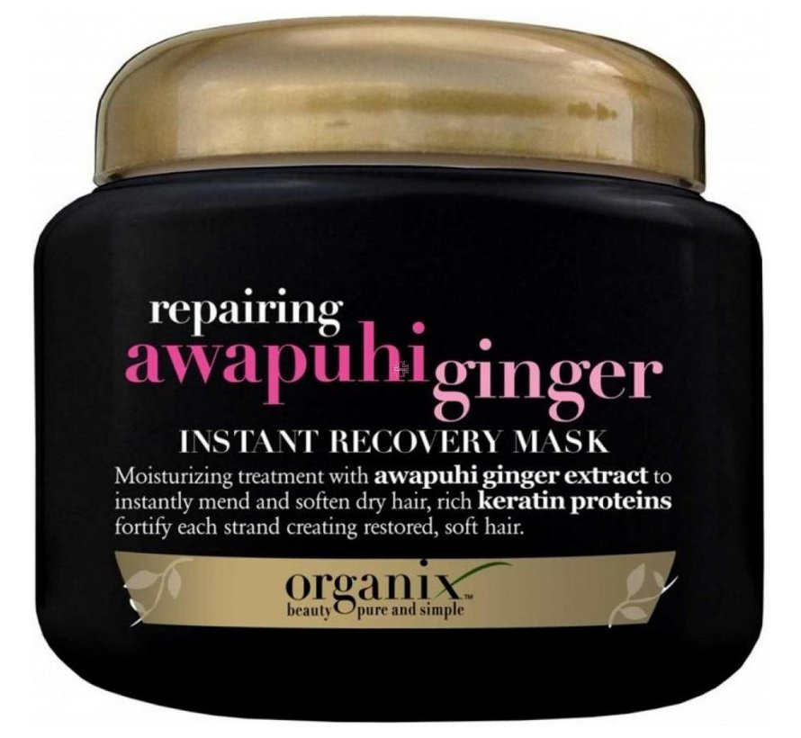 Awapuhi Ginger Instant Recovery Mask