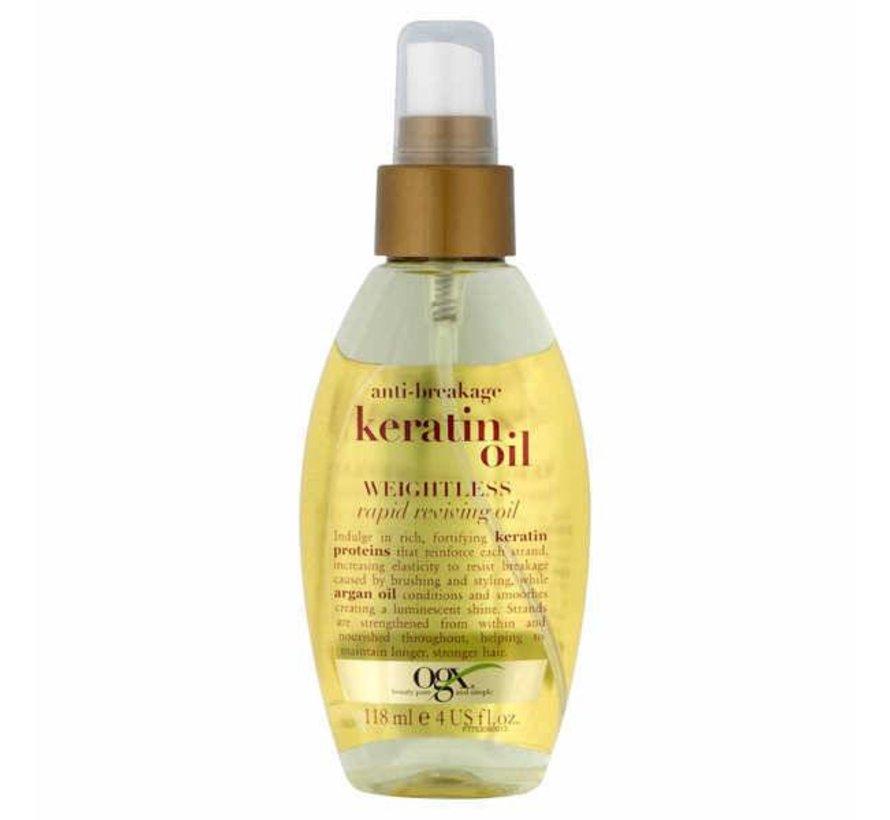Anti Breakage Keratin Oil Instant Repair Weightless