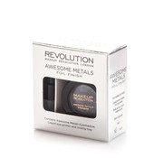 Makeup Revolution Awesome Metals Eye Foils - Black Diamond