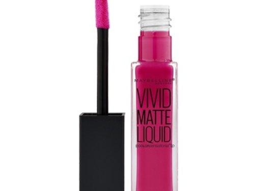 Maybelline Lip Vivid Matte Liquid - 30 Fuchsia Ecstasy