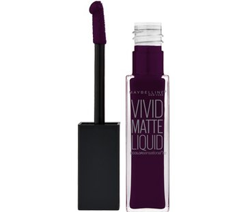 Maybelline Lip Vivid Matte Liquid - 45 Possessed Plum