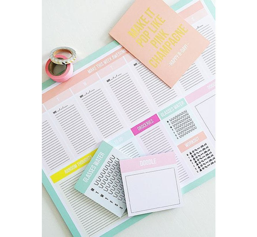 Awesome Desk Planner