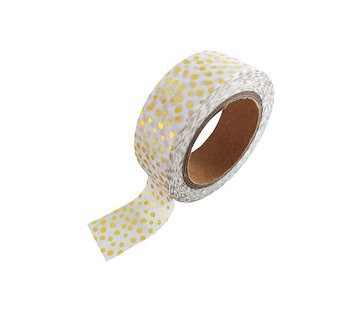 Studio Stationery Masking Tape - Gold Sprinkles