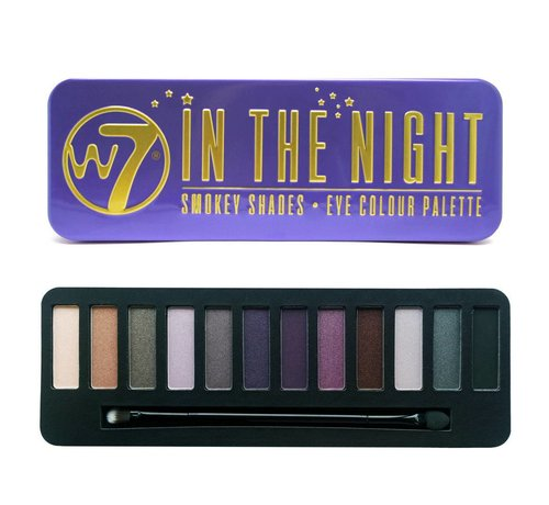 W7 Make-Up In The Night Palette - Oogschaduw