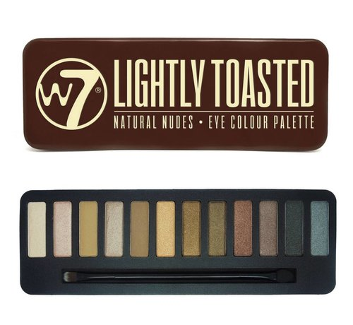W7 Make-Up In The Buff: Lightly Toasted Palette - Oogschaduw