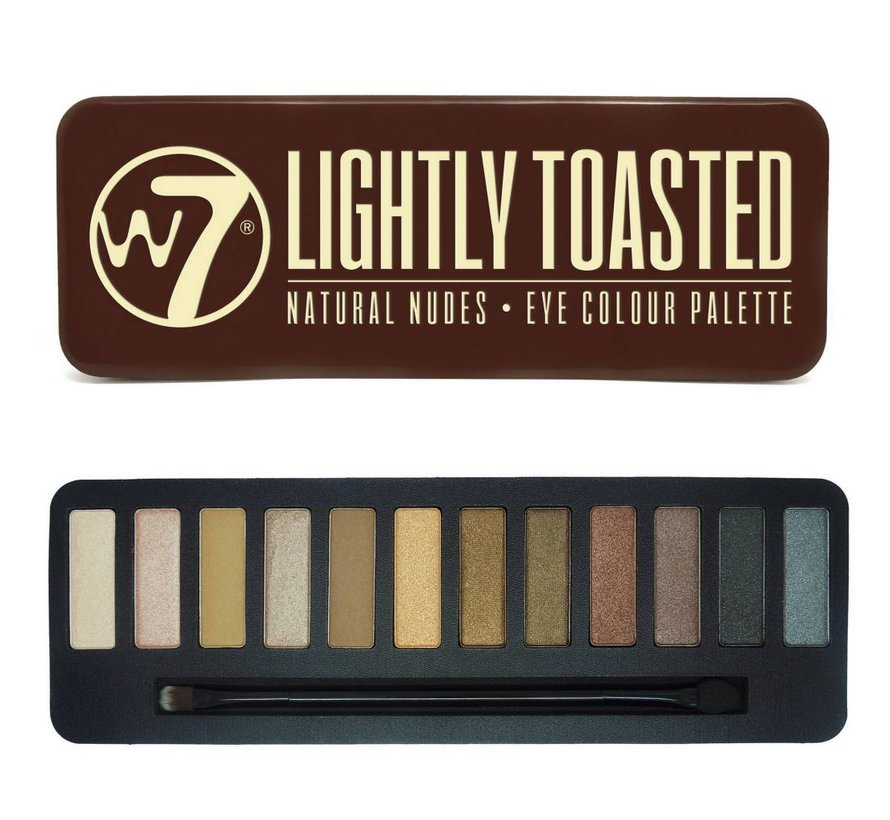 In The Buff: Lightly Toasted Palette - Oogschaduw