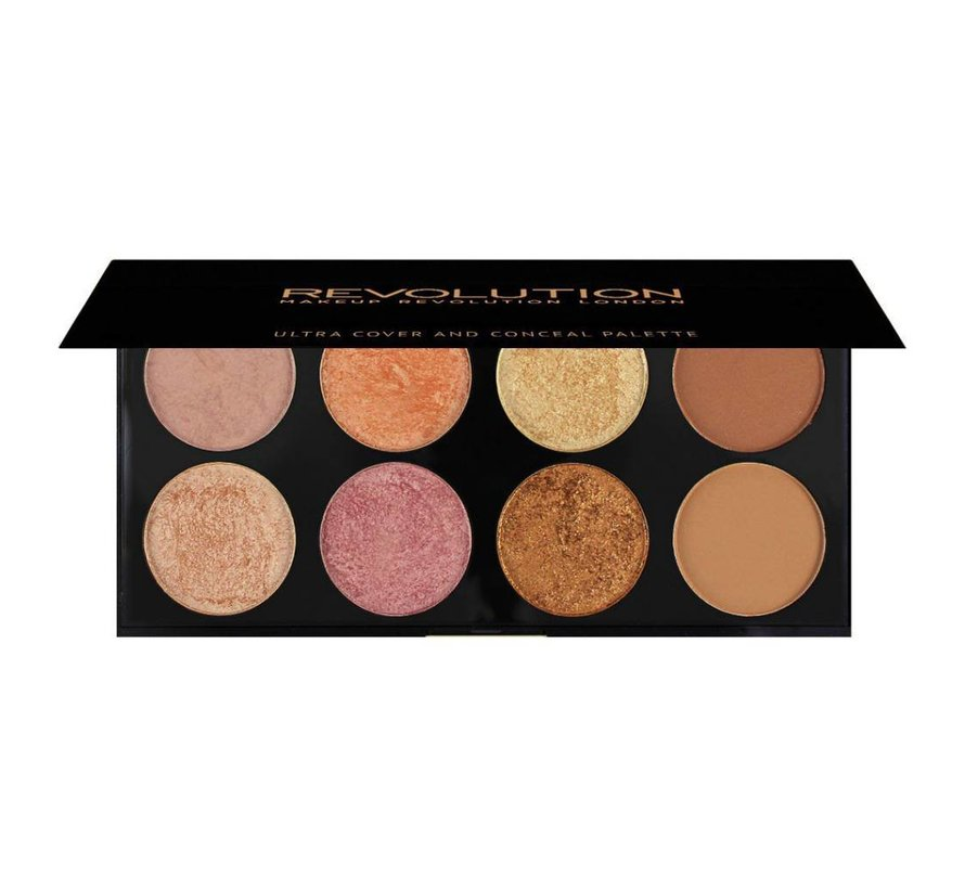 Ultra Blush & Contour Palette - Golden Sugar 2 Rose Gold