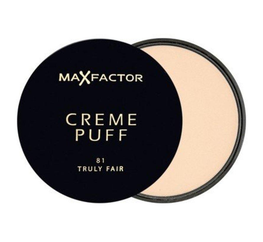 Creme Puff - 81 Truly Fair - Poeder