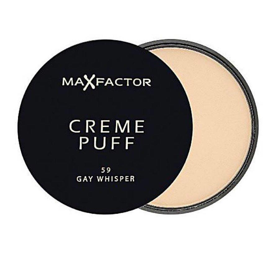 Creme Puff - 59 Gay Whisper - Poeder