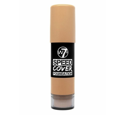 W7 Make-Up Speed Cover Foundation - Medium