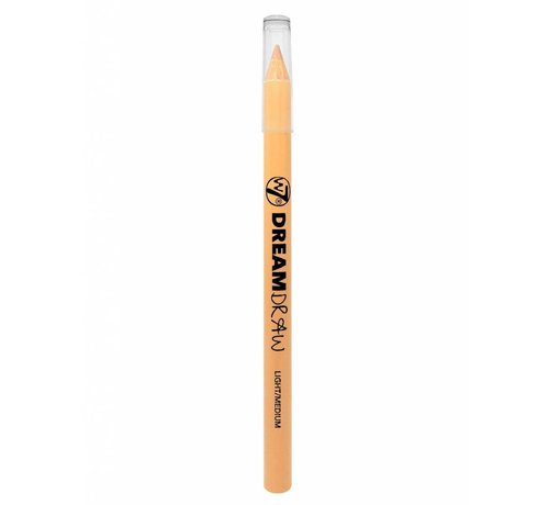 W7 Make-Up Dream Draw Correct Pencil - Light/Medium