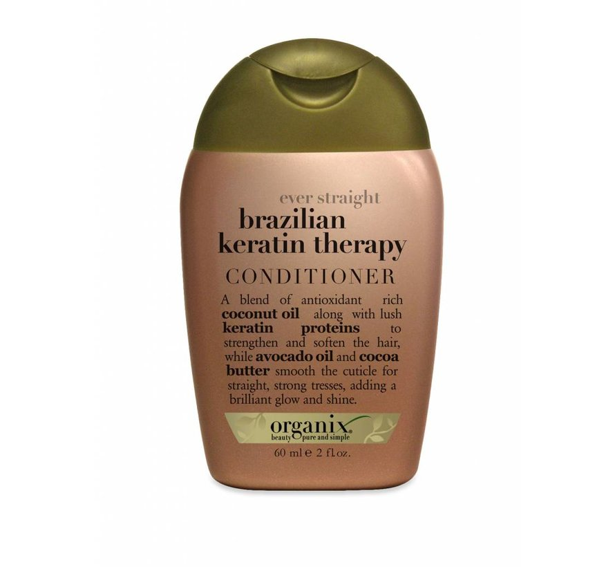 Travel Size Brazilian Keratin Conditioner 60 ml