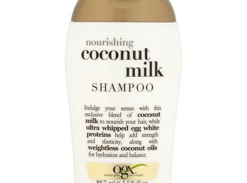 OGX (Organix) Travel Size Coconut Milk Shampoo 88.7 ml