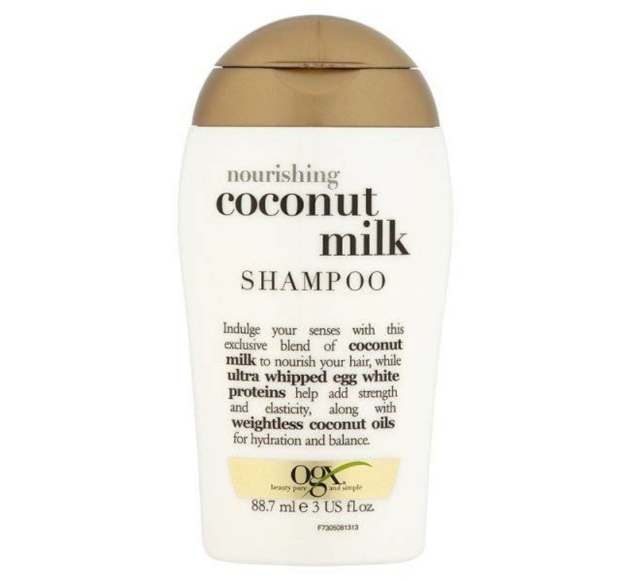 Travel Size Coconut Milk Shampoo 88.7 ml