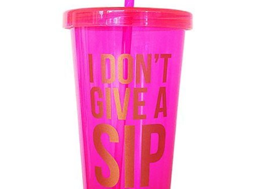 Studio Stationery Sippy Cup - I Don't Give A Sip