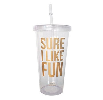 Studio Stationery Sippy Cup - Sure I Like Fun