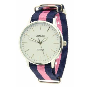 Ernest Striped - Blue Pink