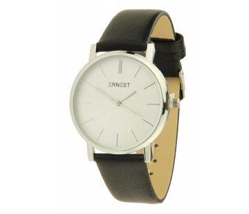 Ernest Classic Silver - Black