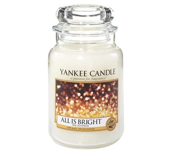 Yankee Candle All Is Bright - Large Jar