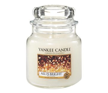 Yankee Candle All Is Bright - Medium Jar