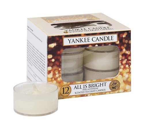 Yankee Candle All Is Bright - Tea Lights