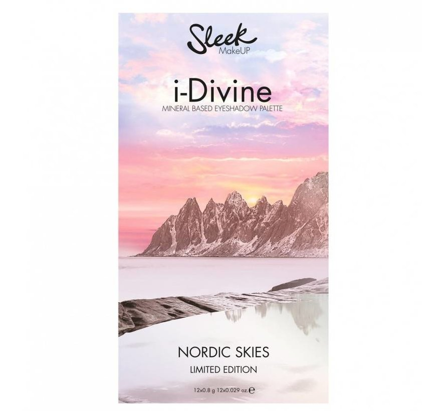 iDivine Nordic Skies Palette