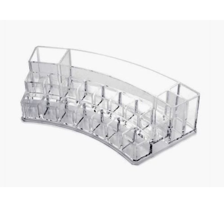 Curved Make-up Organizer