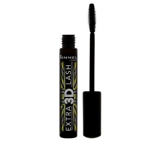 Rimmel London Extra 3D Lash Mascara - Extreme Black 8ml