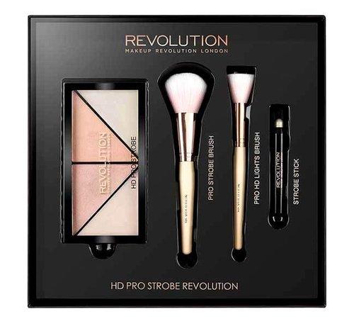 Makeup Revolution HD Pro - Strobe & Highlighting Gift Set