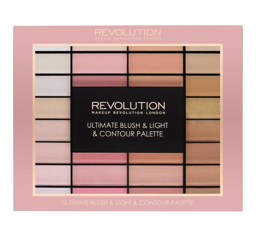 Makeup Revolution Ultimate Blush, Light & Contour Palette