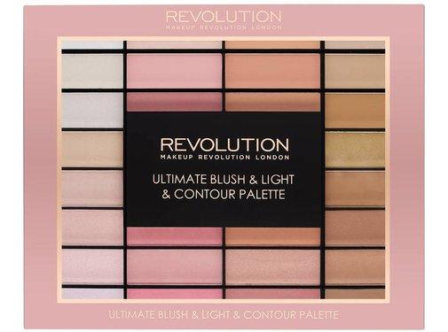 Makeup Revolution Ultimate Blush, Light & Contour Palette