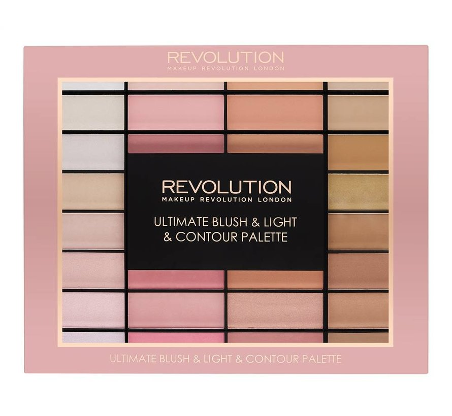 Ultimate Blush, Light & Contour Palette